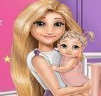 Rapunzel decorar quarto da bebê
