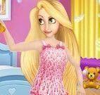Rapunzel e Elsa pijamas