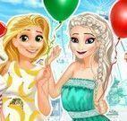 Roupas das princesas no parque