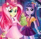 Vestir My Little Pony na escola