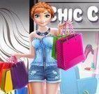 Anna e Cinderela shopping