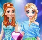 Anna e Elsa roupas facebook
