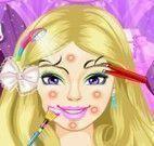 Barbie limpeza de pele e maquiagem