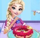 Decorar donuts da Elsa