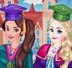 Elsa e Elena formandas