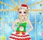 Elsa roupas de natal