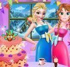Frozen decorar festa de Ação de Graças