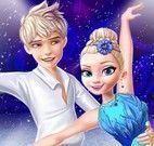 Jack e Elsa bailarinos