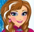 Maquiagem da princesa Anna