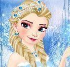 Maquiar e vestir Elsa Frozen