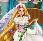 Rapunzel decorar quarto de noiva
