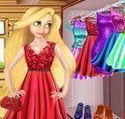 Rapunzel vestidos moda