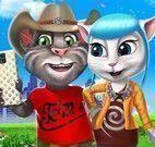Tom e Angela selfie