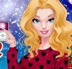 Barbie decorar casa de natal