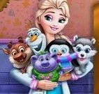 Brinquedos da princesa Elsa