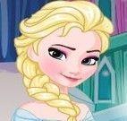 Castelo Elsa congelante