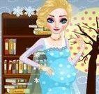 Elsa grávida vestir
