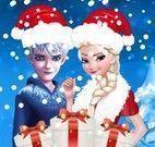 Jack presentes de natal da Elsa
