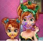 Limpeza facial Anna mãe e filha
