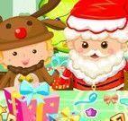 Presentes de natal embrulhar