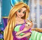 Rapunzel e a bebê