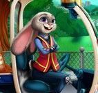 Bunny consertar carro