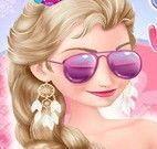 Elsa inverno e verão moda