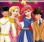 Vestir Ariel e Rapunzel com namorados