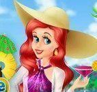 Ariel no caribe vestir