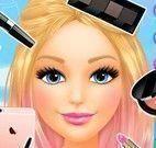 Barbie salão de beleza maquiar