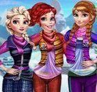 Esquiar Frozen e Ariel