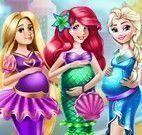 Princesas Disney grávidas