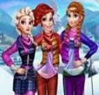 Princesses Visit Arendelle