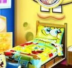 Quarto do Bob Esponja ou Hello Kitty