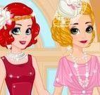 Rapunzel e Ariel moda antiga