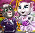 Tom e Angela noivinhos da Páscoa