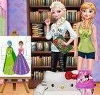 Anna e Elsa decoração