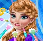 Anna princesa Frozen maquiar
