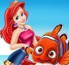 Ariel cuidar do Nemo