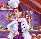 Vestir chefe de cozinha