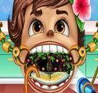 Moana bebê no dentista