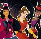 Noite de Halloween das princesas