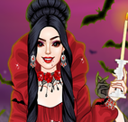 Roupas da vampira charmosa