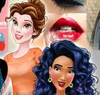 Maquiagem das princesas e moda