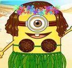Minion moda praia