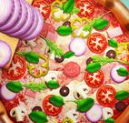 Preparar pizza de cogumelo