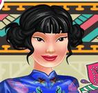 Mulan e Tiana moda étnica
