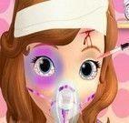 Princesa Sofia no médico