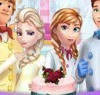 Frozen bolo de casamento