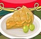 Receita de torta de maçã e canela